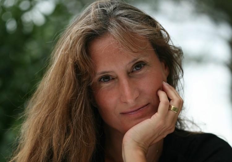 Natacha Calestrémé, romancière.