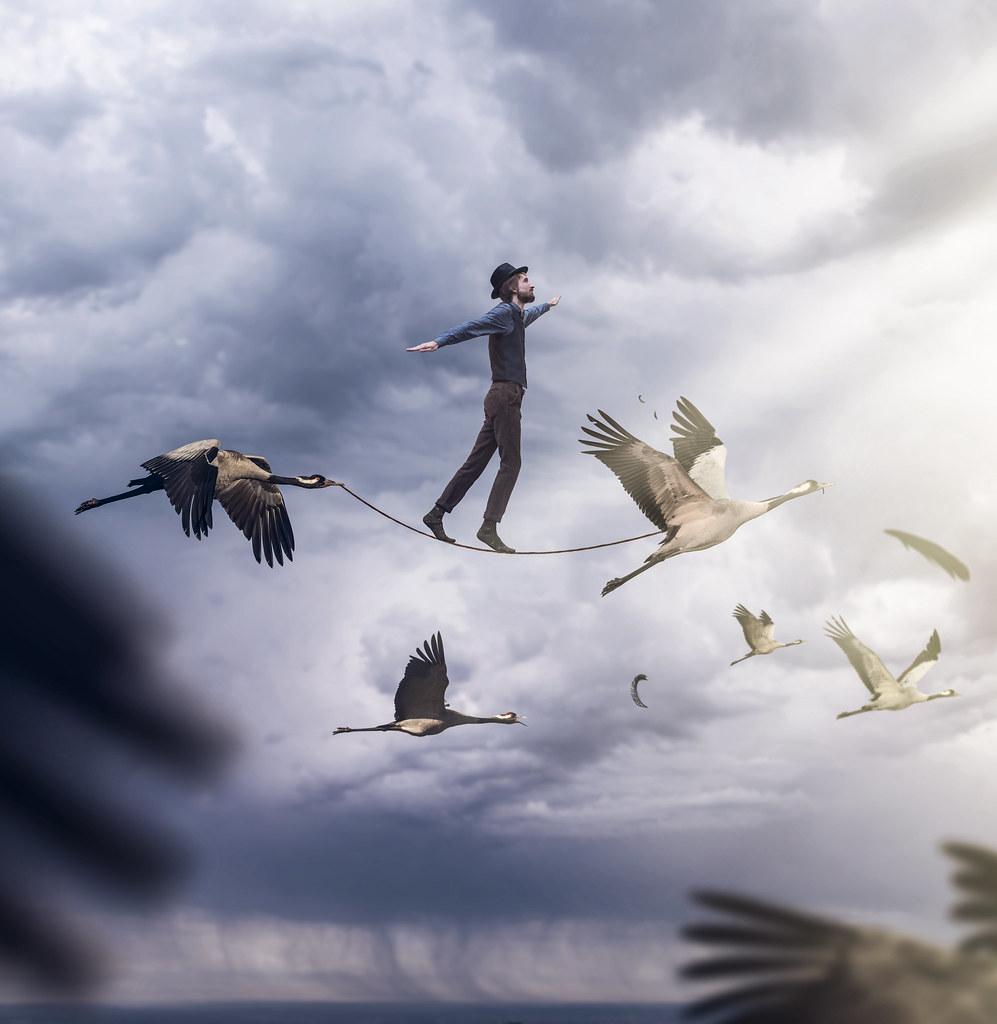Les intuitions de vie ont pour fonction de nous transformer.Photo : Vincent Bourilhon