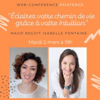 """Web-conférence : """"Eclairez votre chemin de vie grâce à votre intuition"""", mardi 2 mars 19h00"""